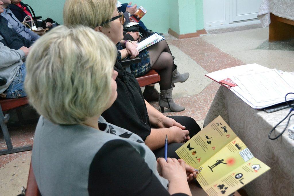 Обучающая беседа с представителями коммунальной службы (Солигорский район)