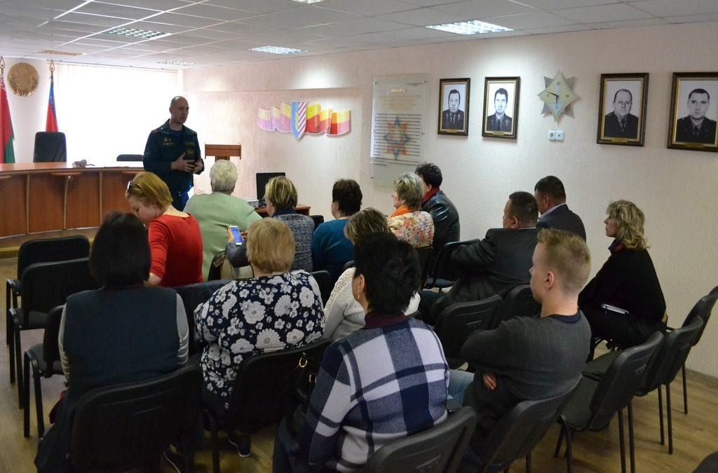 Заседание смотровой комиссии (Солигорский район)